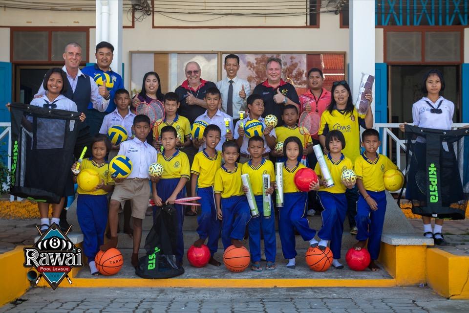 Rawai Pool League Donate for Rawai Temple School