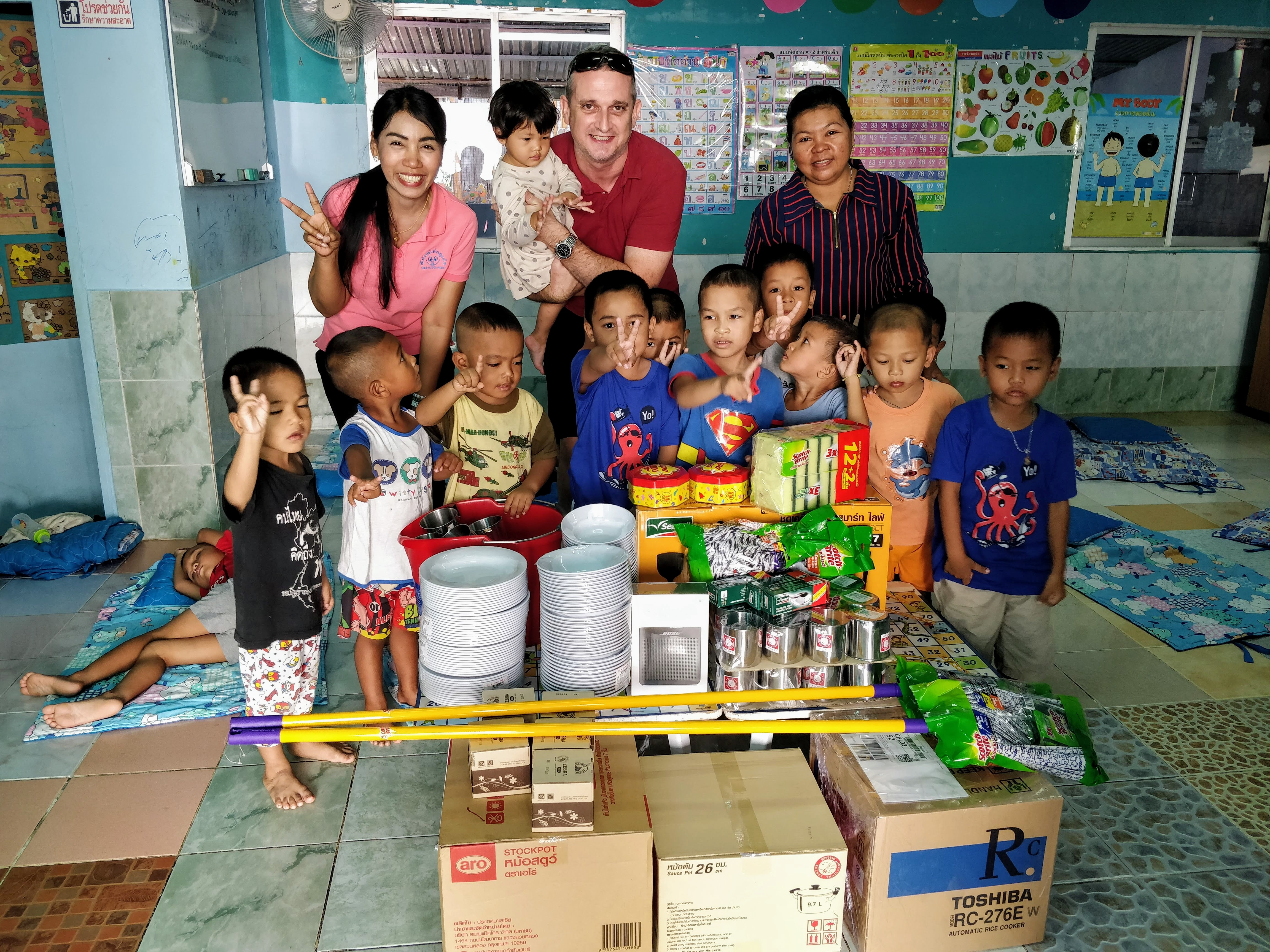 RPL donates to Phuket Child Watch Bang Lung Pitak Daycare Center